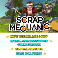 Scrap Mechanic - New Steam Account GLOBAL - Fast Delivery - Global Region