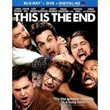 This Is the End Blu-ray/DVD, 2013, 2-Disc Set W/ SLIPCOVER
