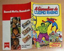 ED.CORNO SERIE  IL GIORNALINO DELL'UOMO RAGNO  N° 18  1981  !!!!!