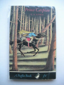 Prince Caspian by C. S. Lewis 1964 Reprint Puffin Books PS173