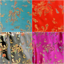 EM-17148-Brown289-M Embroidered Creased Satin Dress Fabric