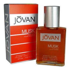 Jovan Musk by Coty Men 4 oz After Shave Cologne Splash