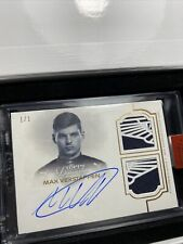 2020 Topps Dynasty Formula One 1 F1 Max Verstappen Dual Patch Auto 1/1 AM Wings!