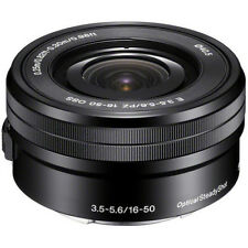 Sony E PZ 16-50mm f/3.5-5.6 OSS Lens for Sony E-Mount Cameras Black - Brand New!