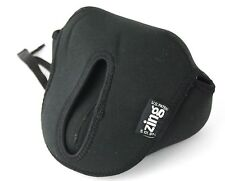 ZING Neoprene Camera Case Cover, Black 5.101.974, for SLR with 28 - 80 Lens