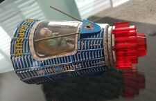 SH Horikawa / JAPAN  - Tin Battery Operated Space Capsule Super Rare Robot