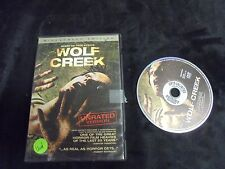 """USED DVD MOVIES """"Wolf Creek""""  Based On True Events Widescreen Edition (G)"""
