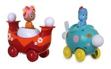 IN THE NIGHT GARDEN PRESS & GO VEHICLE - IGGLE PIGGLE OR UPSY DAISY NEW