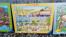 1990 Ravensburger Didacta Lots of Things That Go Puzzle  06 650 Germany