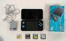 Nintendo 2DS XL Black/Turquoise Handheld System used