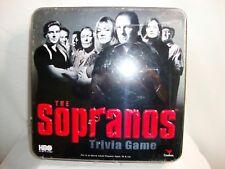 New in Box Sealed THE SOPRANOS Trivia Game