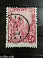 BELGIQUE 1929, timbre POUR EXPRES 2, oblitéré, GAND, VF stamp