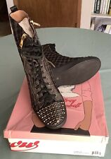 Womens Jeffery Campbell Designer Hightop Sneakers Size 14 Never Worn