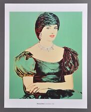 Andy Warhol Princess Diana 1982 Original Foundation Offset Lithograph 34x43 Lady