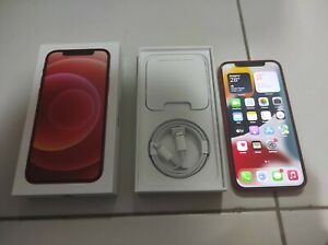 Well Kept Like New Red iPhone 12, 128GB with Warranty