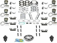 Johnson Evinrude 88-92 200 225 HP V6 Looper Powerhead Rebuild Kit Piston Gasket