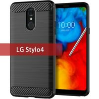 Luxury Slim Silicone Soft TPU Case For LG G8X ThinQ Stylo4 Stylo5 G7 V60 V40 V35