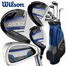 Wilson 1200 TPX +1'' Longer Set - Steel/Graphite (Driver+3W+5H+6-SW+Putter)