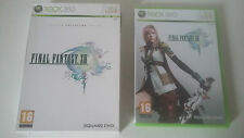 FINAL FANTASY XIII (13) EDITION COLLECTOR LIMITEE - MICROSOFT XBOX 360 - COMPLET