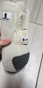 Classic Equine Legacy Boots Small Front White Western Horse Leg Protection Sport