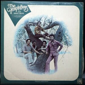 The Temptations - All Directions - ℗ 1972 Italy vinile LP 33 giri