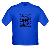 Mama Bear Graphic t Shirt Kids Girls Boys Youth Teen Top Tee T-Shirt Cotton