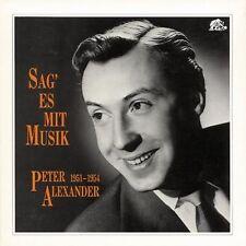 Peter Alexander - Sag' Es Mit Musik   4 -CD Set  Bear Family Records ,Ultra Rare