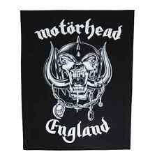 Motörhead Back Patch Inghilterra schiena ricamate ♫ Lemmy Kilmister ♫ rock and roll ♫