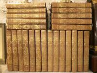 Théatre d'Eugène Scribe. Complet en 24 volumes de 1834. XIX ème siècle.