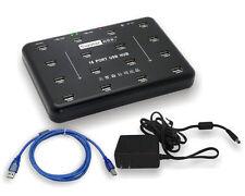 Sipolar A-100 Real Industrial Class Grade 16 Port USB HUB USB2.0 Adapter 480Mbps