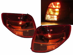 SX4 First generation 2007-2013 Hatchback 5D Clear Tail Rear Light Red for SUZUK