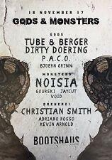 Gods & Monsters: Tube & Berger, D. Doering / Noisia / C. Smith