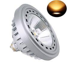 Lampada Alogena 75W 2W LED GU10 AR111 240V Classe energetica A+ 2700K Bianco