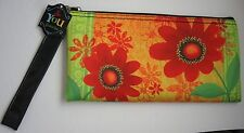 Grasslands Road Red Bloom Clutch Purse So You Oh So Pretty Floral Wristlet Strap