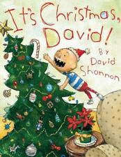 IT'S CHRISTMAS, DAVID! by David Shannon FREE SHIPPING hardcover Children's Book