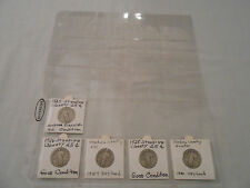 COINS:USA: Standing Liberty Quarter Coin Collection: 5 Coins: 90%Silver/Original