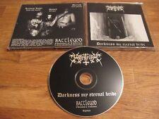 MORTIFIER darkness my eternal bride CD 1996 1st Press BP003 |Darkthrone|