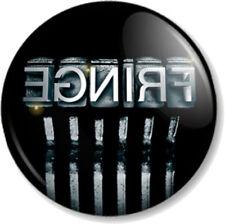 """Fringe Typewriter 25mm 1"""" Pin Button Badge TV Series Sci-Fi FBI Title Symbol"""