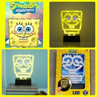 Spongebob Squarepants LED Night Light Neon Lamp Timer 4 Hrs Kids Christmas Gift
