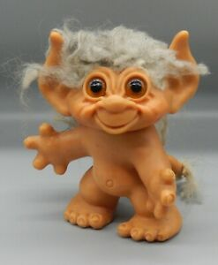 """Original vintage 1965 Dam Things TAILED TROLL doll 6"""" Monster toy SUPER RARE !!!"""