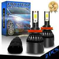 Protekz H11 LED Light Bulb Kit 600W 120000LM for Ford F-series Edge Escape Fusio
