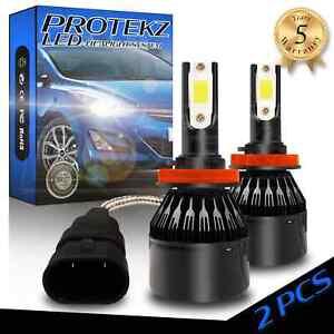 LED Headlight Protekz Kit High 9005 6000K CREE for 2006-2006 Isuzu i-350