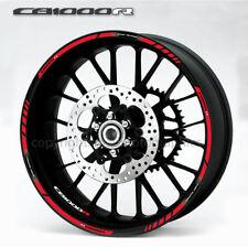 2 Tons Am/éthyste Jante de Moto d/écalcomanies Autocollant Accessoire pour Honda CB 1000R