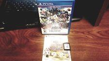 World of Final Fantasy (Sony PlayStation Vita, 2016) COMPLETE CIB - FREE SHIP-B4