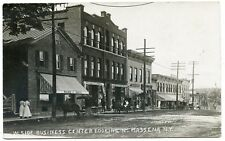 RPPC NY Massena W Side Business Center Looking N (Beach Photo)  St Lawrence Co