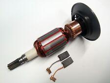 Motor Anker Rotor Läufer Markenware + Kohle für Bosch GBH 5 DCE, 38, GSH 5 CE, 4