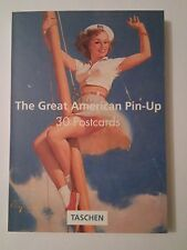 30 cartes postales détachables  The great american Pin up postcardbook