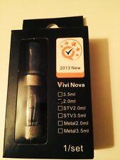 Vision Vivi Nova Clearomiser (2.0ml).  Black Tank 3x Coils .