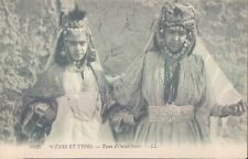 ALGERIA ouled nails nice girls 1910s PC