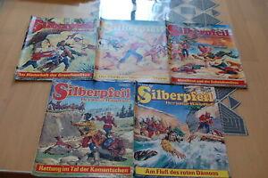 5 x  Silberpfeil Comics, Lasso, Bufferlo Bill,